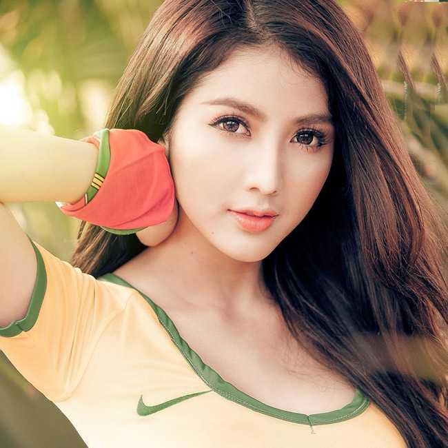 5 hot girl chung minh 'con gai ten Linh thuong rat xinh' hinh anh 15