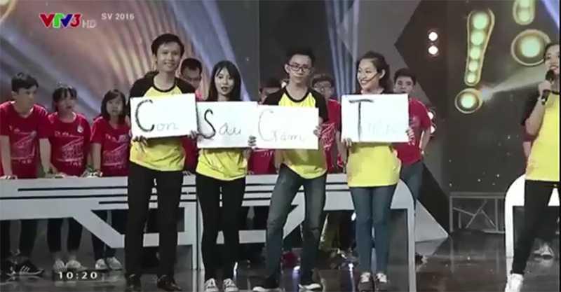 Cum tu 'Con sau gam tien' chuong trinh SV 2016 bi hieu la 'CSGT' khien dan mang tranh cai hinh anh 2