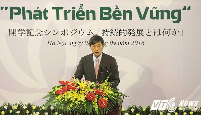 GS Vu Minh Giang: Viet Nam, Nhat Ban nhu hai ban tay trai phai, trai nguoc nhung khong xung khac hinh anh 2