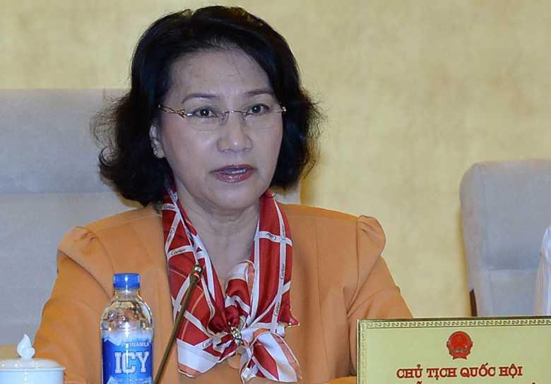 Chu tich Quoc hoi: Phai co bao cao ve Formosa va tinh hinh Bien Dong hinh anh 1