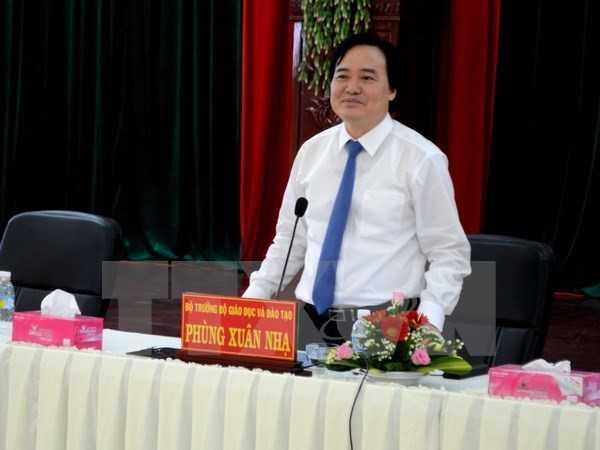 Bo truong Phung Xuan Nha: 'Trong phong thi co 30 chau, moi chau co ma de rieng' hinh anh 1