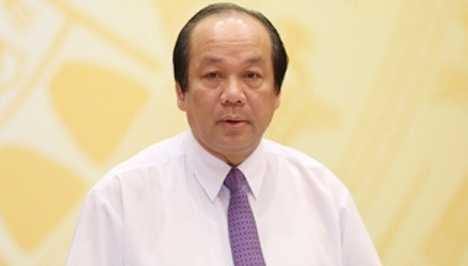 Bo truong Mai Tien Dung: 'Co cong chuc mac ca voi doanh nghiep ti le phan tram du an' hinh anh 1