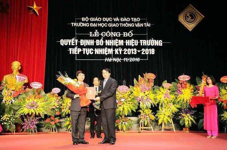 Dai hoc Giao thong Van tai co hieu truong moi hinh anh 1