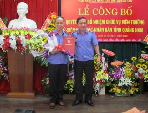 Vien kiem sat nhan dan tinh Quang Nam co lanh dao moi hinh anh 1