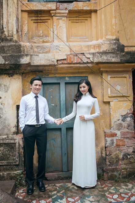 Hot girl Thanh Thao dep diu dang trong bo anh cuoi dam chat thu Ha Noi hinh anh 1