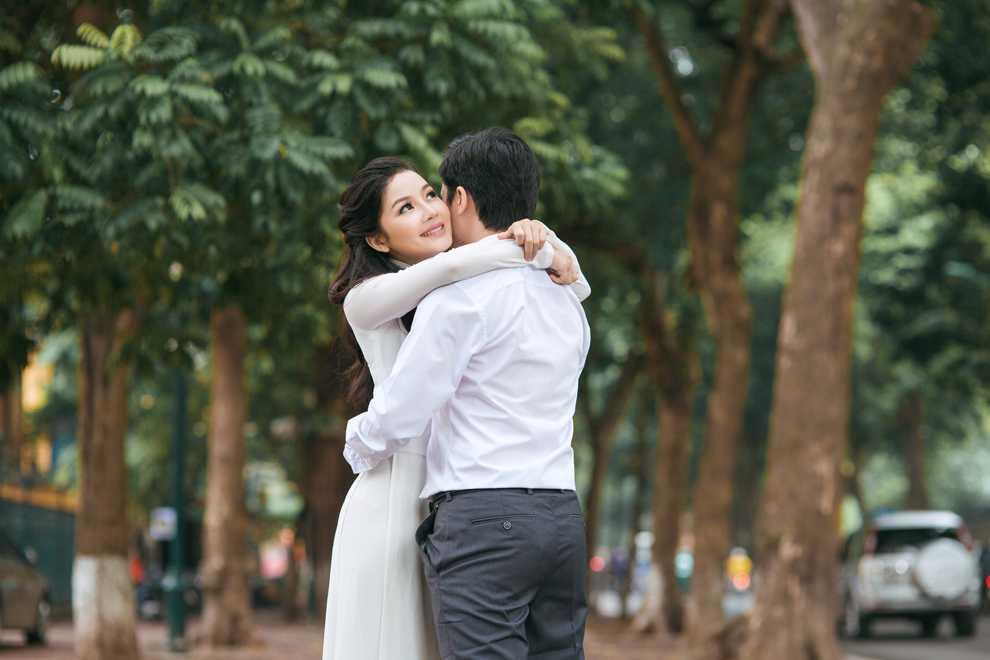 Hot girl Thanh Thao dep diu dang trong bo anh cuoi dam chat thu Ha Noi hinh anh 4