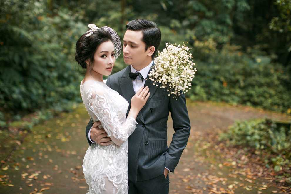 Hot girl Thanh Thao dep diu dang trong bo anh cuoi dam chat thu Ha Noi hinh anh 11