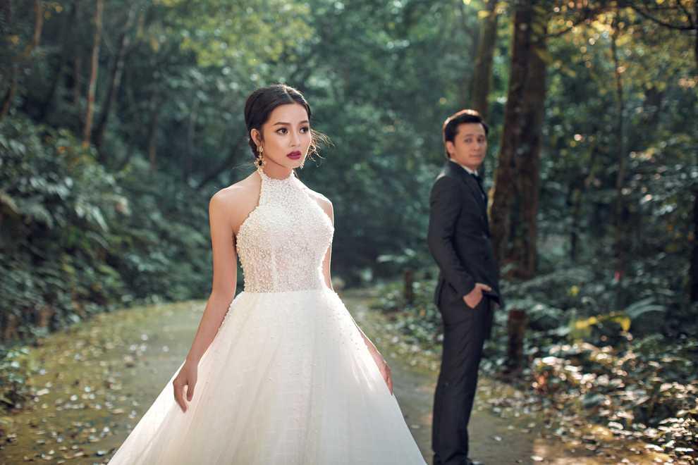 Hot girl Thanh Thao dep diu dang trong bo anh cuoi dam chat thu Ha Noi hinh anh 13