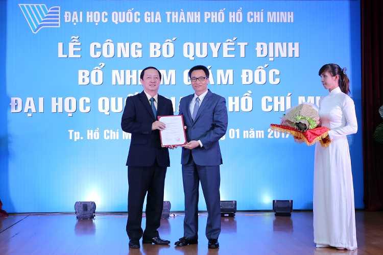 Thu thach nao cho doi tan Giam doc Dai hoc Quoc gia TP.HCM? hinh anh 1