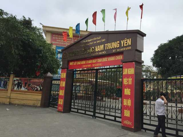 100% giao vien tieu hoc Nam Trung Yen xac nhan khong co taxi vao truong: Su gia doi dang so hinh anh 2