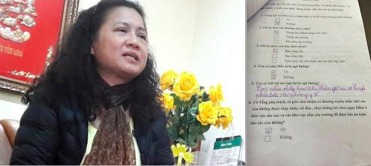 Chu tich Ha Noi: Phat phieu khao sat gia doi o tieu hoc Nam Trung Yen la tinh tiet tang nang hinh anh 2