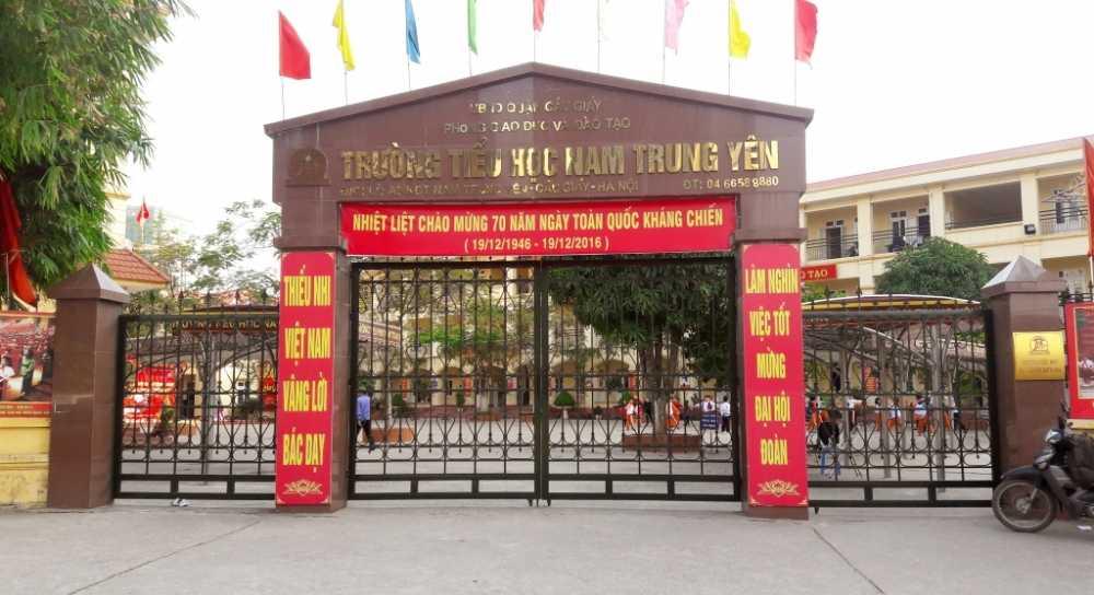 Chu tich Ha Noi: Phat phieu khao sat gia doi o tieu hoc Nam Trung Yen la tinh tiet tang nang hinh anh 1