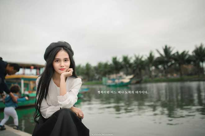 Danh tinh co gai Viet xinh dep duoc dan mang Han Quoc kiem tim hinh anh 1