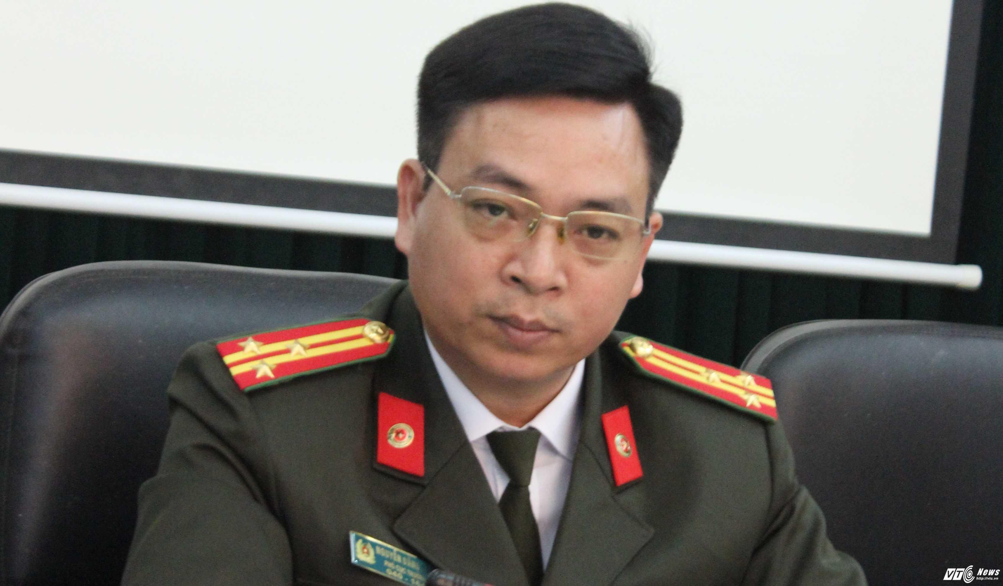 Bo Cong an thong tin diem moi tuyen sinh vao truong CAND nam 2017 hinh anh 2