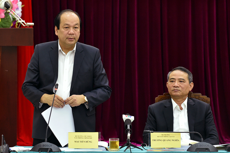 Bo truong Mai Tien Dung: Co chuyen bao ke, 'xa hoi den' doa lanh dao tinh Bac Ninh hinh anh 1