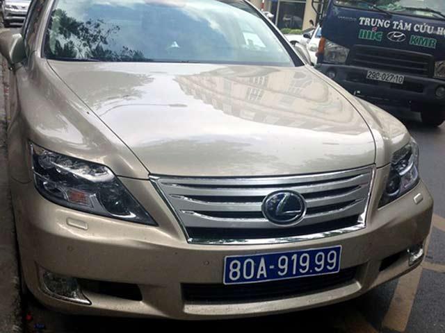 Thu tuong yeu cau thu hoi bien so 80A, 80B cua 516 xe cap cho doanh nghiep hinh anh 1