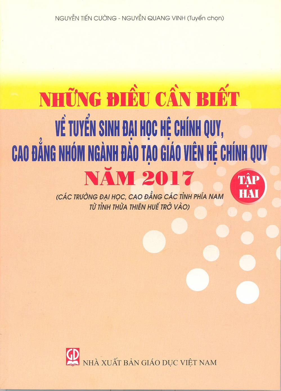 Phat hanh 'Nhung dieu can biet ve tuyen sinh dai hoc 2017' hinh anh 2