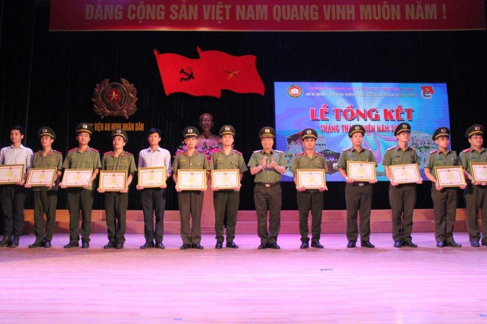 Hoc vien An ninh tong ket Thang Thanh nien: Nhieu thanh tich dac biet hinh anh 1