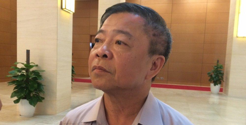 TS Nguyen Si Dung: 'Ong Cu xin tu chuc la vot vat danh du cua minh' hinh anh 1