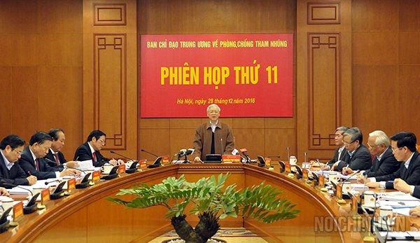 Tong Bi thu ky quyet dinh lap 8 doan giam sat xu ly an tham nhung, kinh te nghiem trong hinh anh 1