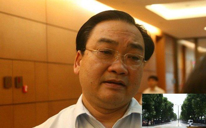 Chat ha, chuyen 1.300 cay xanh, Bi thu Ha Noi: 'Phai xin y kien du luan' hinh anh 1