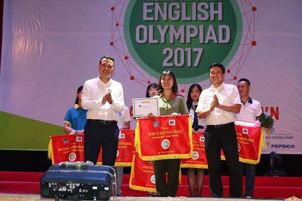 Hoc vien An ninh nhan dan gianh giai Nhat Olympic Tieng Anh chuyen 2017 hinh anh 12