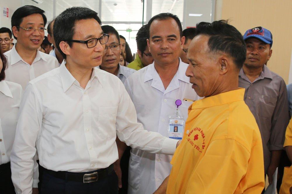 Pho Thu tuong Vu Duc Dam: Nhin thang, noi thang cac ton tai cua nganh y hinh anh 1