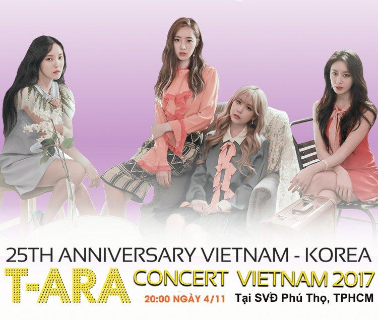 Dieu dac biet trong dem nhac T-ARA Concert in Vietnam 2017 hinh anh 1