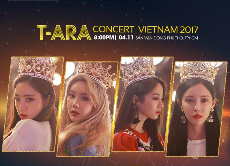 Dieu dac biet trong dem nhac T-ARA Concert in Vietnam 2017 hinh anh 2