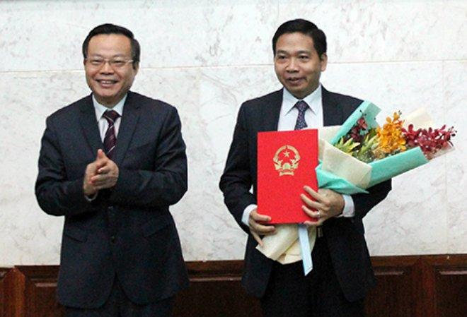 Dièu dọng Phó Bí thu Tỉnh ủy Nghe An va Hau Giang vè Trung uong hinh anh 2