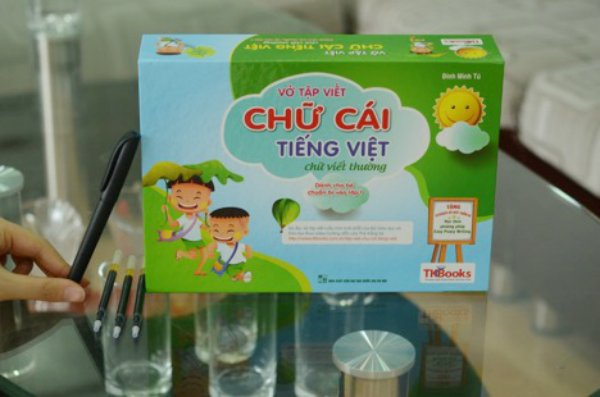 Vo tap viet 'than ky' co the dung lai nhieu lan cho be sap vao lop 1 hinh anh 1