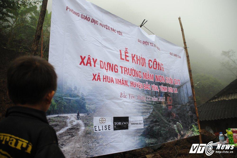 Bao dien tu VTC News khoi cong xay truong mam non o ban kho khan nhat Bac Yen (Son La) hinh anh 3