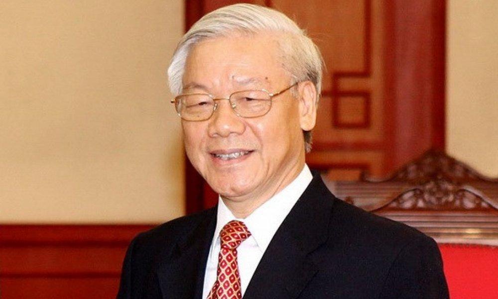 Thu tuong moi Tong Bi thu tham du hop Chinh phu thang 12 hinh anh 1
