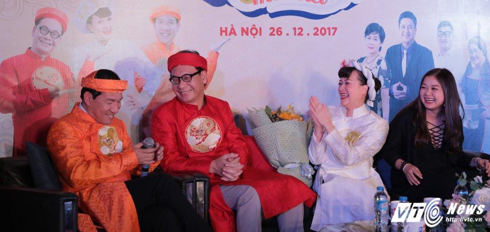 Chi Trung, Quang Thang, Van Dung dong phim hai 'Co Gioi moi biet' hinh anh 5