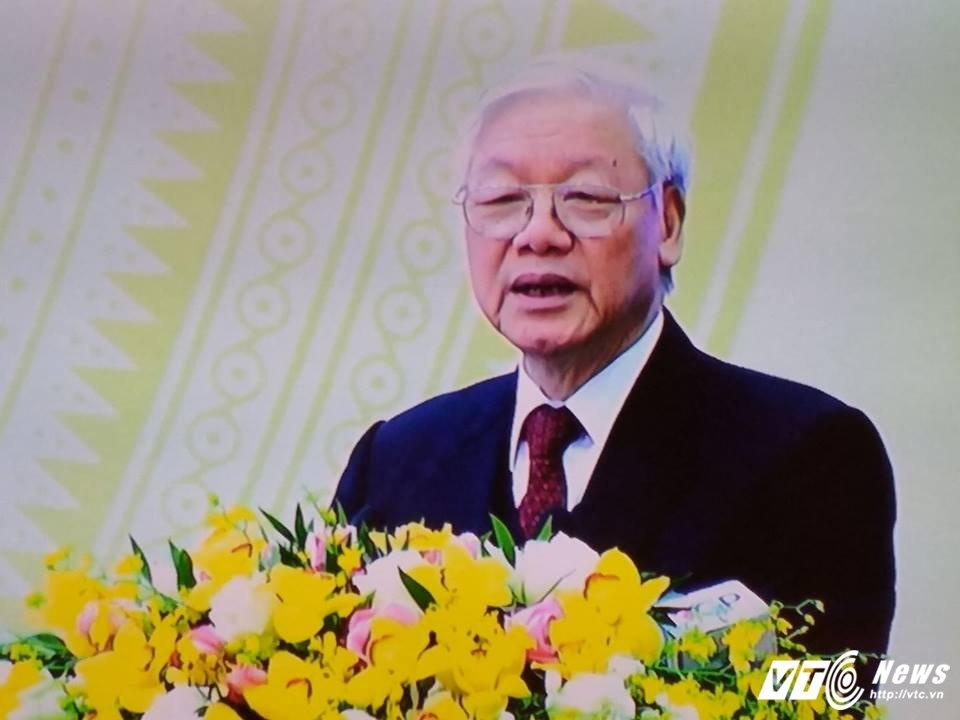 Tong Bi thu: 'Xu ly nghiem minh ke ca can bo cap cao cua Dang, can bo duong chuc' hinh anh 1