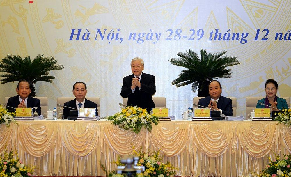 Tong Bi thu: 'Xu ly nghiem minh ke ca can bo cap cao cua Dang, can bo duong chuc' hinh anh 2