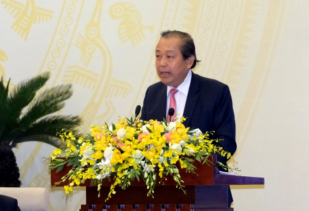 Pho Thu tuong: 'Cham xu ly mot so vu viec hinh su, de toi pham bo tron' hinh anh 1