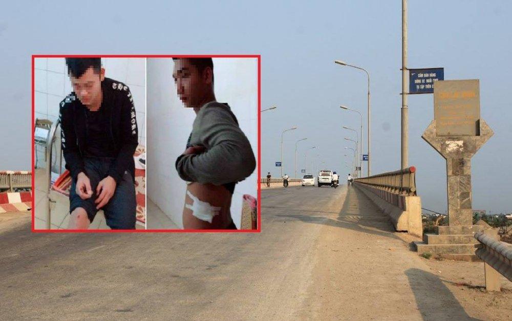 Nguyen nhan nhom con do Nam Dinh rut sung ban lai va phu xe khach, dam trong thuong chu xe hinh anh 1