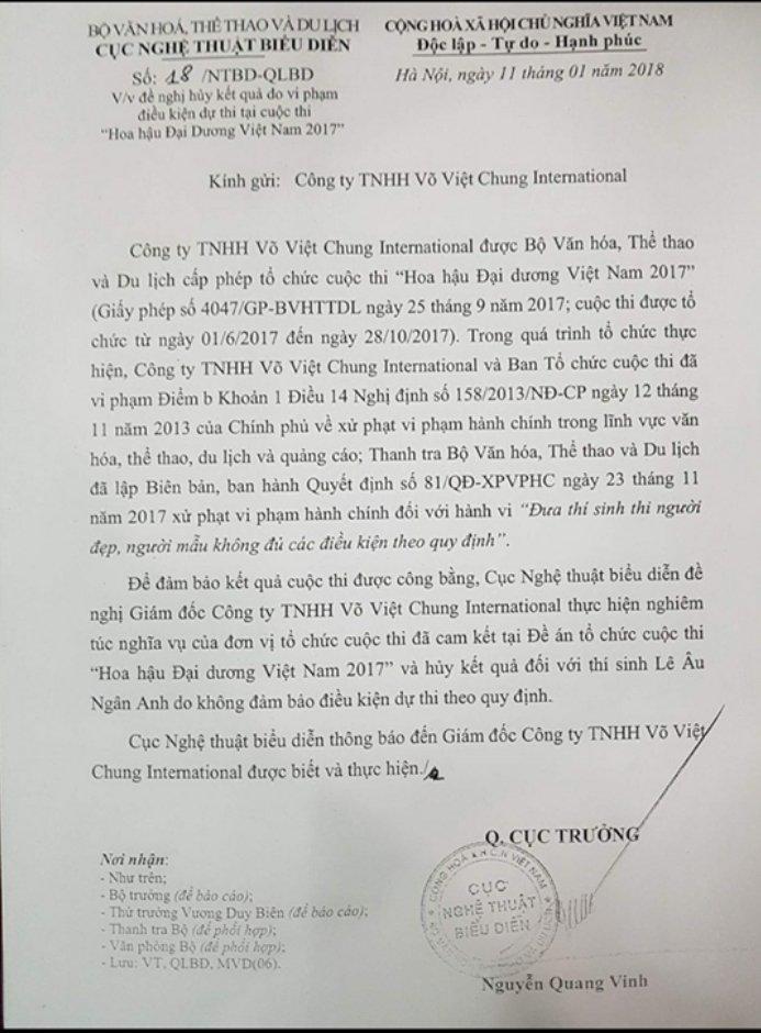 De nghi tuoc vuong mien Hoa hau Dai Duong Le Au Ngan Anh hinh anh 1