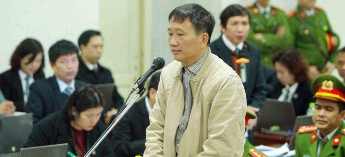 Bi cao Trinh Xuan Thanh khoc truoc toa, noi 'co loi voi anh Thang, cac anh lanh dao' hinh anh 1