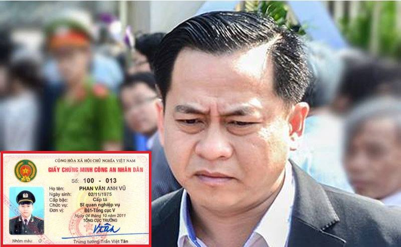 Bo Cong an noi ve tam the nganh cong an cua Vu 'nhom' hinh anh 1