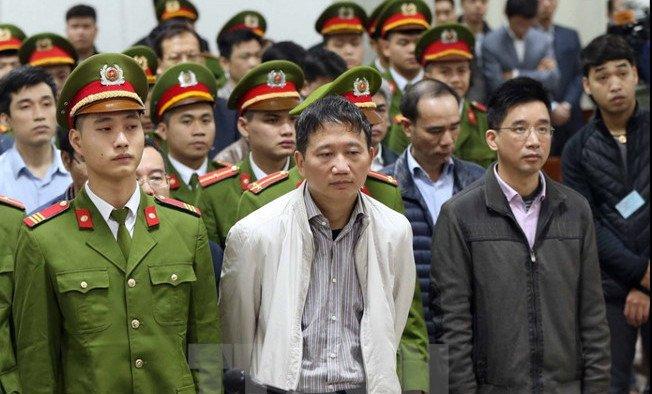 Vi sao em trai ong Dinh La Thang phai hau toa cung Trinh Xuan Thanh? hinh anh 1