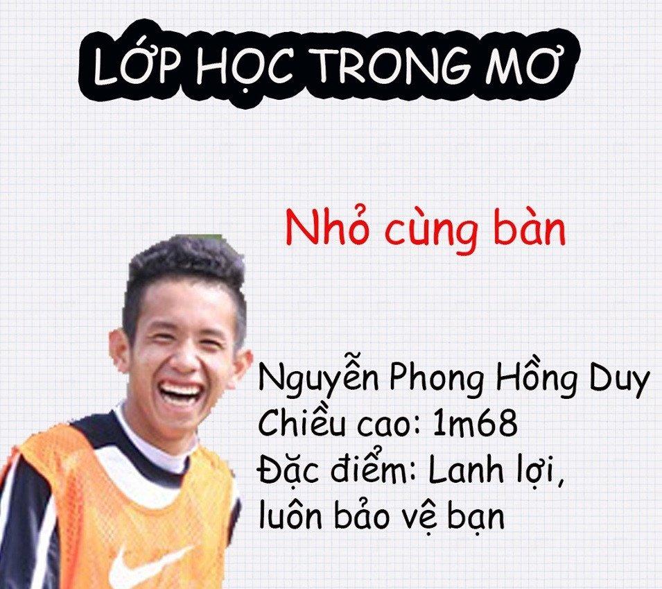 Lop hoc trong mo voi dan cau thu dien trai U23 Viet Nam hinh anh 10