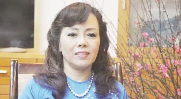 Bo truong Y te Nguyen Thi Kim Tien dat chuan giao su nam 2017 hinh anh 1