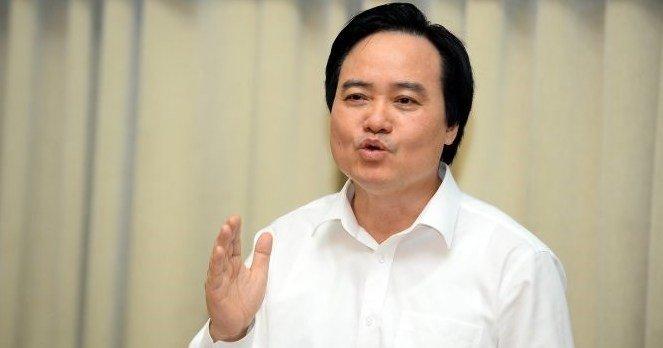 Bo truong Phung Xuan Nha: 'Nganh giao duc con nhieu van de lam nong du luan nam 2017' hinh anh 1