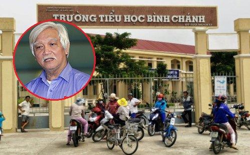 Co giao quy xin loi phu huynh, ong Duong Trung Quoc buc xuc: 'Khong the dung luat rung trong giao duc' hinh anh 1