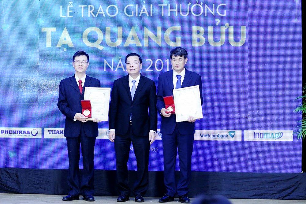 3 nha khoa hoc tai nang nhan giai thuong Ta Quang Buu 2018 hinh anh 2