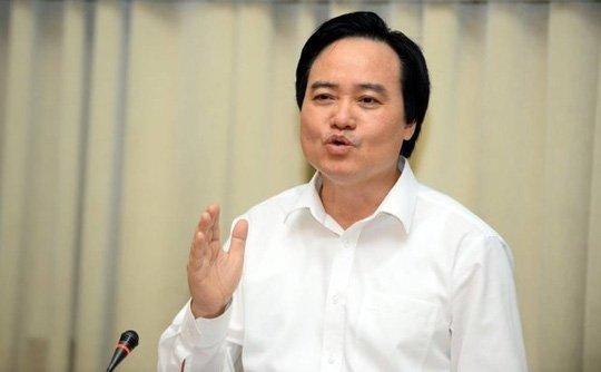 Bo truong Phung Xuan Nha: 'Sau su viec o Ha Giang, Son La, Bo GD-DT ra soat lai khau cham thi' hinh anh 1
