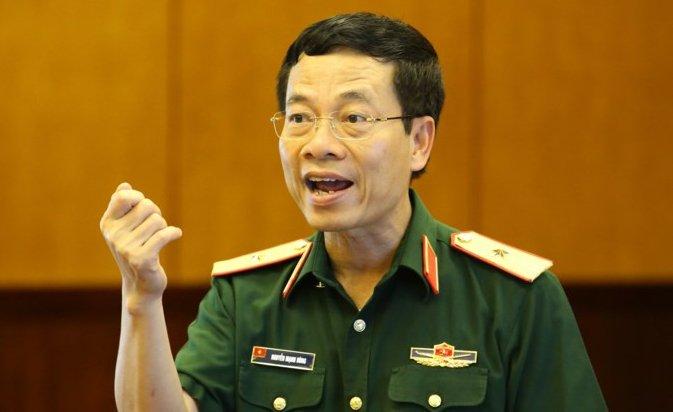 Ong Nguyen Manh Hung duoc giao quyen Bo truong Bo TT&TT hinh anh 1