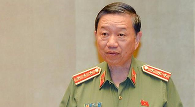 Bo truong Cong an To Lam tra loi chat van phong chong toi pham hinh anh 4
